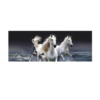 $19.70 • Buy 135x36cm White Horse Rear Window Tint Graphic Decal Wrap Back For Car Truck SUV