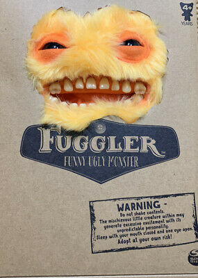 $ CDN31.72 • Buy Fuggler Funny Ugly Monster (Yellow) Toy Adopt Doll Funny