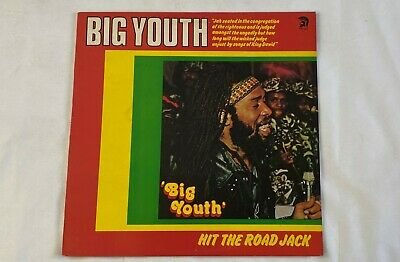 BIG YOUTH  Hit The Road Jack  12 Inch 33 1/3  Stereo Dancehall  Reggae Roots • 21.70£