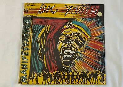 BIG YOUTH  Manifestation  12 Inch 33 1/3  Stereo Dancehall  Reggae Roots • 21.70£