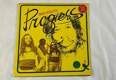 BIG YOUTH  Progress  12 Inch 33 1/3  Stereo Dancehall  Reggae Roots • 21.70£