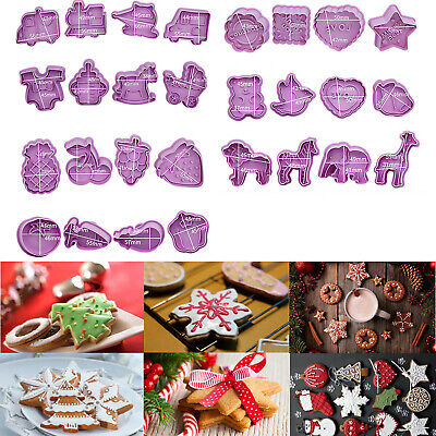 £5.79 • Buy 4Pcs Cute Cake Pastry/Cookie/Fondant Stamper Baby Bake Cookie Plunger Cutters