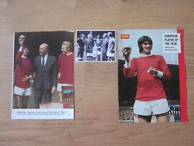 £2.99 • Buy GEORGE BEST - Manchester United: 1968 Ballon D'Or - Football Magazine Pictures