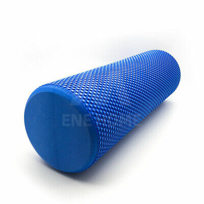 AU19.95 • Buy VIVVA Yoga Roller Physio EVA Foam Gym Back Training Exercise Massage 60CM Blue