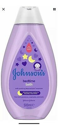 £3 • Buy JOHNSON'S Bedtime Bath 500ml Gently Cleanses No More Tears Everyday Cleansing