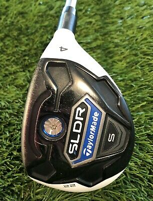 AU150 • Buy Taylormade SLDR S Hybrid 4  S Flex, R/H Steel Shaft     (#207)
