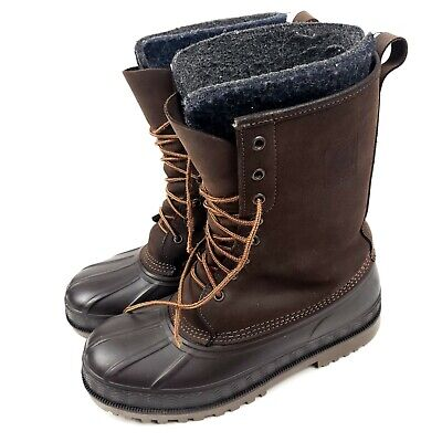 Lacrosse Brown Suede Leather Rubber Insulated Duck Boots Made In USA Size 9? • 43.38£