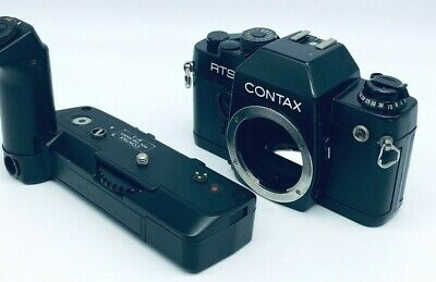 $ CDN358.95 • Buy Excellent CONTAX RTS II Quartz Black + Real Time Winder W-3#112714