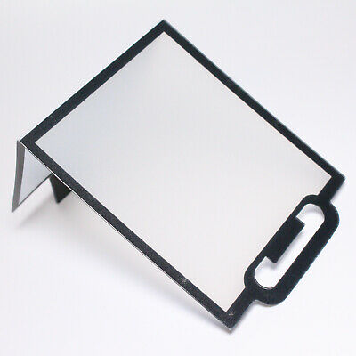 (New Old Stock) Camera DSLR Hotshoe Flash Reflector Bounce Card Diffuser • 5£