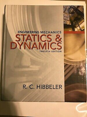 Engineering Mechanics : Combined Statics And Dynamics By Russell C. Hibbeler (20 • 85.87£