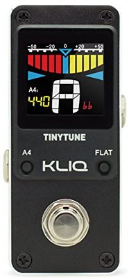 $ CDN59.10 • Buy KLIQ TinyTune Tuner Pedal For Guitar And Bass - Mini - Chromatic - With Pitch