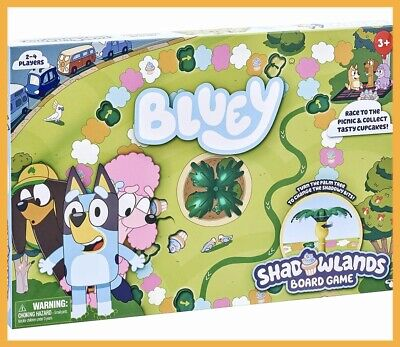 AU19.88 • Buy Bluey Shadowlands Family/Kids/Children Board Game Activity Fun Play Toys 3y+