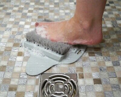 £6.95 • Buy Aidapt Mobility Aid Feet Foot Cleaning Sponge Brush Scrub Mat For Bath Or Shower