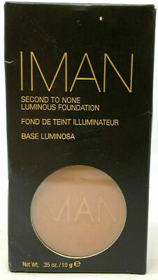 Iman Second To None Luminous Foundation (0.35 Oz/ 10 G)  EARTH 4 • 9.29£