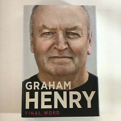 AU85 • Buy Graham Henry Final Word Autobiography SIGNED AUTOGRAPHED Hardcover Book