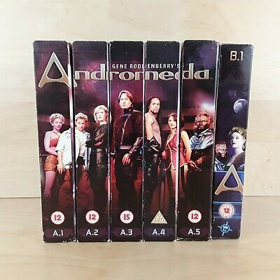 Andromeda Dvd Boxsets Series 1 Complete A.1 A.2 A.3 A.4 A.5 & B.1 From Series 2 • 11.99£