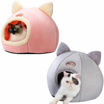 Cave Bed For Cat Small Dog Pet Igloo Bed Winter Kitten Sleeping Nest Kennel  • 11.99£
