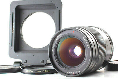 $ CDN703.66 • Buy 【Exc+5】 Contax Carl Zeiss Distagon T* 45mm F/2.8 Lens For 645 W/ Hood From Japan