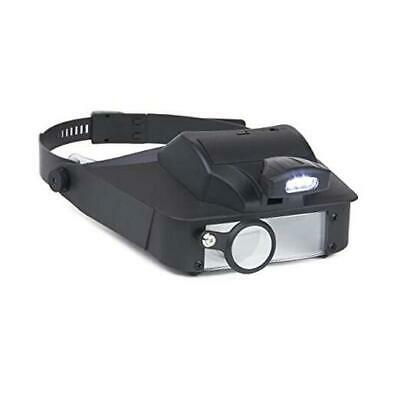 LumiVisor Head Magnifier - Head Visor With LED Lighted Magnifier  • 27.45£