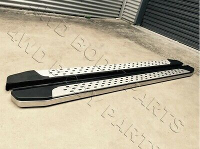 AU389 • Buy (#SM) Side Steps Running Boards For SsangYang Musso / XLV Dual Cab 2018 To 2020