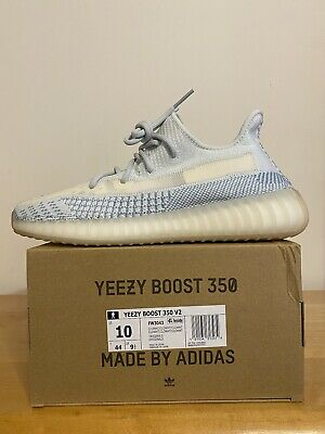 $ CDN526.33 • Buy Adidas Yeezy Boost 350 V2 Cloud White Blue Tint Size 10 100% Authentic DS