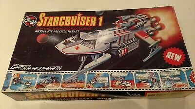 £98.76 • Buy Airfix Starcruiser 1 Vintage Snap Tite Model Kit 1978 Gerry Anderson  07170-9