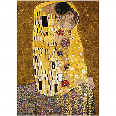 $ CDN22.52 • Buy 1000 Piece Jigsaw Puzzle For Adults - The Kiss By Gustav Klimt Jigsaw Puzzle For