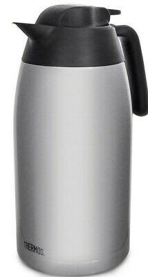 AU58.58 • Buy Thermos 2L Stainless Steel Vacuum Insulated Coffee Tea Jug Pot Carafe Flask