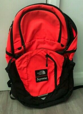 $ CDN360.25 • Buy Supreme X TNF (North Face) Orange Backpack FW16 9/10 Condition Authentic