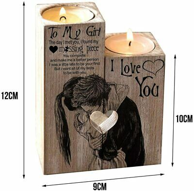 BIRTHDAY ROMANTIC GIFTS Valentines His & Her Love For Couple Heart Cute Sweet • 26.99£