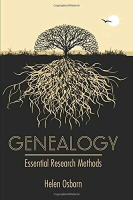 Genealogy: Essential Research Methods New Hardcover Book • 16.42£