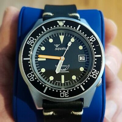 $ CDN924.71 • Buy Squale 50 ATMOS 1521 - Mens Automatic Watch