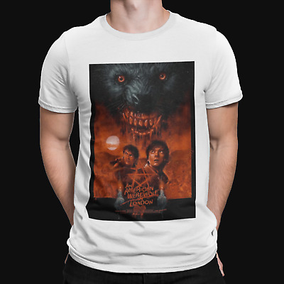£6.99 • Buy American Werewolf In London T-Shirt 80s Horror Wolf Tee The Slaughtered Lamb