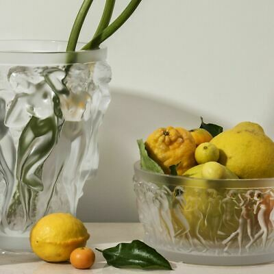 Lalique BACCHANTES BOWL CLEAR CRYSTAL 10547900 NEW • 1,702.37£