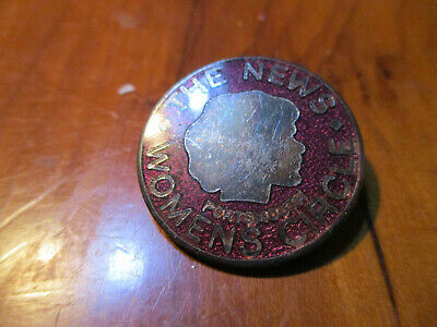 £8 • Buy Portsmouth Evening News Womans Circle Members Badge