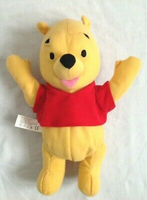 Talking And Laughing Winnie The Pooh Hand Puppet. Fisher Price. 11  • 8£