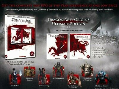 AU10 • Buy Dragon Age Origins Ultimate Edition (PC) Origin Key Region Free