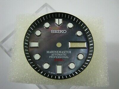 $ CDN63.11 • Buy New SEIKO REPLACEMENT MARINE MASTER 300m MOP Dial With Minute Track For SKX007