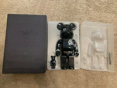 $250 • Buy Authentic Medicom BE@RBRICK 100% 400% Jwyed Bearbrick Devil Heart Pattern