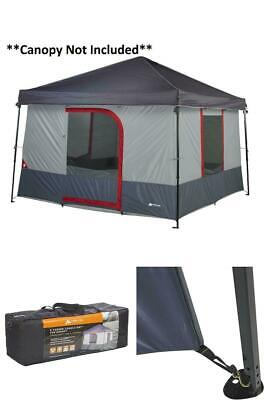 AU124.54 • Buy 6-Person Instant Tent Outdoor Cabin Waterproof Family Dome Portable Camp Shelter