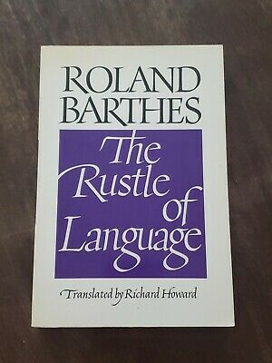 AU17.85 • Buy The Rustle Of Language By Roland Barthes