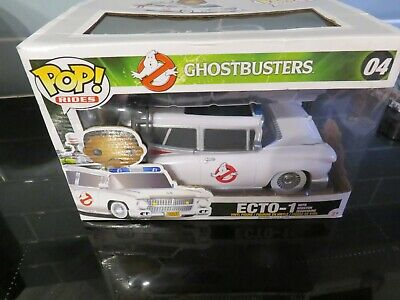 POP Ghostbusters Ecto-1 30th Anniversary 04 Model Sealed Winston Zeddemore Rare • 50£