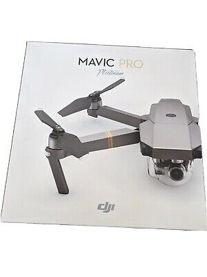 AU1100 • Buy DJI Mavic Pro Platinum Fly Drone With Accessories - Grey