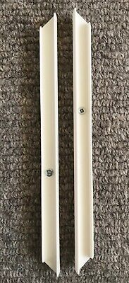 PAIR OF IKEA TROFAST DRAWER UNIT RUNNER RAILS & SCREWS - SIZE 411mm PART 120056 • 7.99£