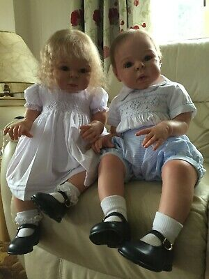$ CDN1230.83 • Buy Reborn Twin Toddler Dolls (Pair) - Boelle By Adrie Stoete - TIME LIMITED PRICE