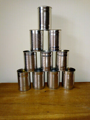 Empty Tin Cans (400g) Arts & Crafts, Planters, Weddings, Hobbies, Tin Can Alley • 4.85£