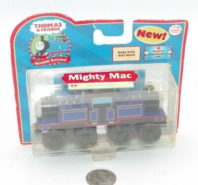 NEW Thomas & Friends Wooden Railway Train Tank Engine - Mighty Mac 2006 LC99032 • 52.91£