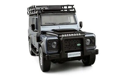 BLUE Land Rover Defender Car Model Diecast Toy Vehicle  • 21.99£