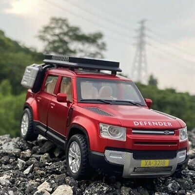 Red NEW Land Rover Defender Car Model Diecast Toy Vehicle  • 19.99£