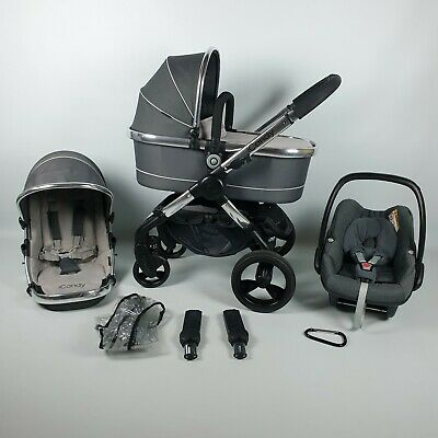 ICandy Peach 3 TRUFFLE Full Travel System PUSHCHAIR Pram Stroller  • 379.99£